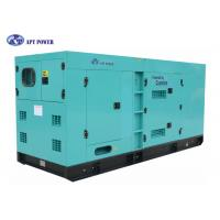 Heavy Duty 180 kVA Cummins Quiet Diesel Generator For Continuous Power Generation for sale