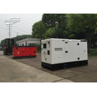 In - Line Six Cylinder Perkins Diesel Generator Set Anti Vibration 106kw for sale