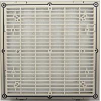 Wholesale 172mm Industrial Electric Ultra-thin Exhaust metal cabinet ventilation fan filter SA-803 from china suppliers