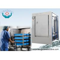 Wholesale Mechanical Hinge Single Door Pharmaceutical Autoclave With 0.2μm Membrane Type Air Filter from china suppliers