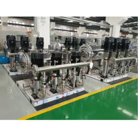 China stainless steel water booster pump station for high rise building for sale