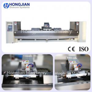 China New Design Chrome Polishing Machine with Servo Motor Rotogravure Cylinder Chrome Finishing Machine Sand Belt Band on sale