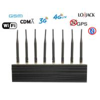 Wholesale High Power Cell Phone Jammer wholesale GSM Jammer DCS PHS GPS WiFi Jammer brouilleur de téléphone تشويش الهاتف الخليوي from china suppliers