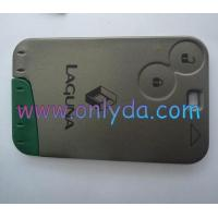 Buy cheap Renault Laguna 2 button remote card ,Renault laguna from wholesalers