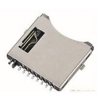 China Small MP4 Player / MP3 Player TF Card Connector Holder 8 Circuits ROHS UL HF on sale