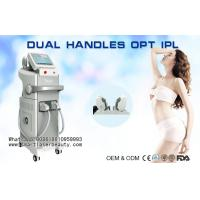 China 10Hz Single Pulse IPL Hair Removal Equipment For Skin Rejuvenation / Acne Treatment on sale