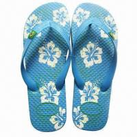 China EVA Men's Slippers, Customized Colors, Logos and Sizes are Accepted  on sale