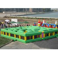 Wholesale Giant Inflatable Interactive Games / Amusement Park Inflatable Maze from china suppliers