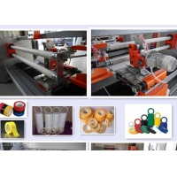 Wholesale YUYU Double Shafts 1600mm Tape Roll Cutting Machine from china suppliers