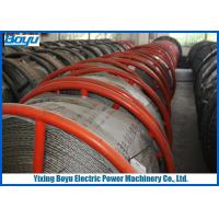 Wholesale 30mm 540kN T29 Anti twisting Braided Galvanized Steel Wire Rope Line Stringing Engineering from china suppliers