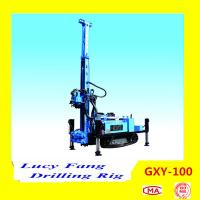 China Hot Multi-function GXY-100 Hydraulic DTH Hammer Water Well Drilling Rig with 100 m for sale