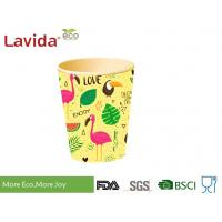 Wholesale OEM ODM Decal Printing Bamboo Fibre Eco Cup Coffee Mug Shatter Proof Easy Cleaning from china suppliers