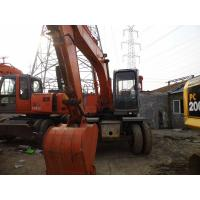 Wholesale Used HITACHI WHEEL EXCAVATOR EX120WD FOR SALE ORIGINAL JAPAN from china suppliers