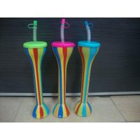 China Hot Sale Plastic Straws Cup Bottle yard cup on sale