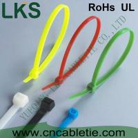 Wholesale LKS UV protection and cold-resistance self-locking nylon cable ties with different colors from china suppliers