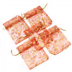 Wholesale Custom Printed Organza Bag Wholesale & Organza Gift bag & Customized Organza Bag With Logo Ribbon from china suppliers