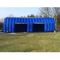 Wholesale Commercial Blue Inflatable Tent Mobile Car Garage Blowup Tent from china suppliers