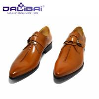 Wholesale Genuine Leather Dress Shoes Lace Up Pointed Toe Man Shoes US 6.5 ~ 10.5 Size from china suppliers