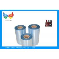 Wholesale High Shrinkage 45mic Clear PET Shrinkable Film Rolls Plastic Film For Sleeves from china suppliers