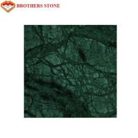 Wholesale Indian Emerald Green Marble Stone Tile , Green Granite Slabs For Hotel from china suppliers