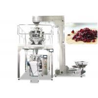 Wholesale Multihead Weigher Automatic Packing Machine For Dried Cranberries , Fruit , Candy from china suppliers