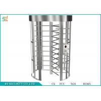 Wholesale Dual Passage Full Height Turnstiles Gate Single Channel Access Control System from china suppliers