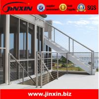 Wholesale Stainless steel outdoor metal staircase for glass railing from china suppliers