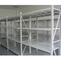 Wholesale Q235B Light Grey / Dark Blue Warehouse Steel Storage Racks Powder Coating from china suppliers
