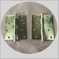Residential House Brass Ball Tip Hinges , Pie Cut Corner Hinge For Wooden Doors for sale
