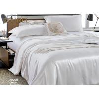 Wholesale Living Room Wholesale Pure White Hotel Quality Bed Linen 4 PCS Bedding Cover For Guest Room from china suppliers