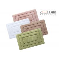 Buy cheap Eco Friendly Hotel Collection Bath Rugs Long Terry Yarn 1000 - 1200 Gram from wholesalers