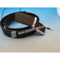 Buy cheap Poker Cheating IR Camera Device Brown Leather Belt Camera to Scan Invisible Ink from wholesalers