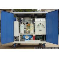 China Portable Vacuum Oil Purifier Machine Double Stage For Dielectrici Oil on sale