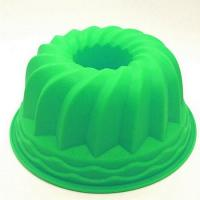 China Large Size silicone pumpkin cake mold for bakery shop on sale