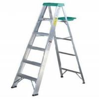 Wholesale Aluminum Single Sided Ladder (with tool tray) (RZT) from china suppliers