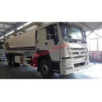 Buy cheap 12R22.5 Howo Sino 27CBM Oil Tank Trucks Volume Diesel Fuel Type 371hp Horsepower from wholesalers