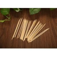 Wholesale Cocktail / Seafood Decorative Bamboo Skewers With Special Shape Twisted Ends from china suppliers