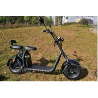 Wholesale High Speed Fashion 2 Wheels Mobility Electric Scooter Motorcycle F / R V Brake from china suppliers