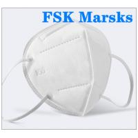 Wholesale FFP2 FFP3 N95 Respirator Mask Four Layer Non Woven Disposable Mask Non Irritating from china suppliers