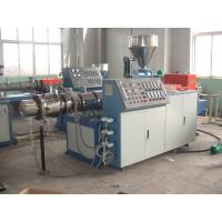 Quality Soft PVC Braided Hose Pipe Making Machine , Plastic PVC Pipe Production Line for sale