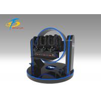 Wholesale Super Crazy 3 Seats 9D VR Simulator Ride with FRP + Metal Material from china suppliers