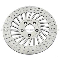 Classic Silver Front / Rear Brakes And Rotors For Harley Davidson Custom Parts for sale