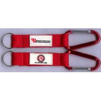 Wholesale Lightweight Lovely Carabiner Key Chain With Laser Engraved Logo from china suppliers