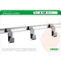 China Metal Chrome Retail Display Hooks , Slatwall Display Shelves Picture Hooks For Retail Shops on sale
