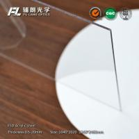 Wholesale Fireproof 19mm PMMA Acrylic Sheet , Abrasion Resistant Plastic Sheets Hard To Break from china suppliers