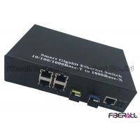 Buy cheap 10/100/1000Base-T Fiber Ethernet Switch For Looped Network With 2 SFP 4 LAN Ports from wholesalers