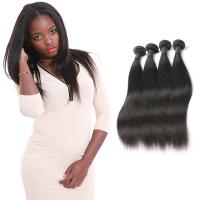 Wholesale Genuine Grade 9A Straight Virgin Hair Weave No Synthetic Hair OEM Service from china suppliers