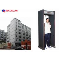 Wholesale Banks, Embassies, Airport Security 6 Pinpoint zones Walkthrough Metal Detector Gate from china suppliers