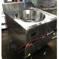 Quality 18KW Commercial Induction Cooker For Cooking Soup With 90l Pot for sale