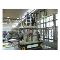 Quality 12m Stable Vertical Aluminum Work Platform For Continuous Aerial Working for sale